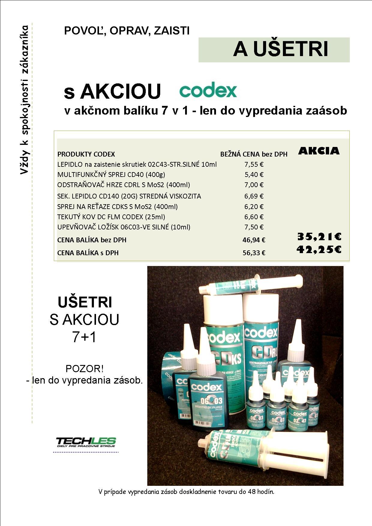 AKCIA CODEX